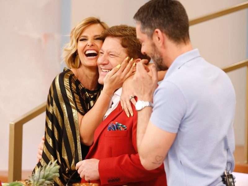 "Herman visita Cristina e repete ""momento Lili Caneças"""