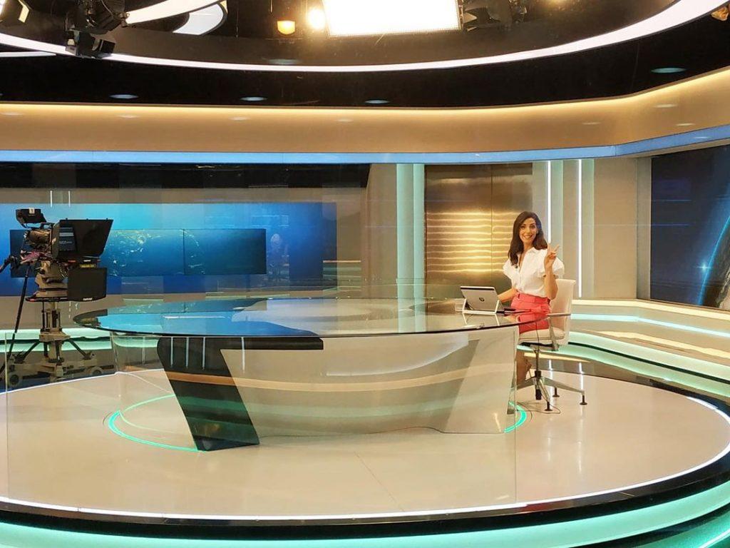 Sara Pinto no Jornal das 8