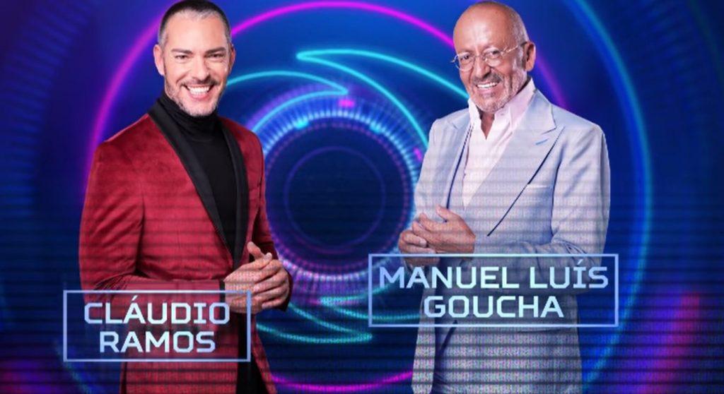 Cláudio e Goucha no Big Brother