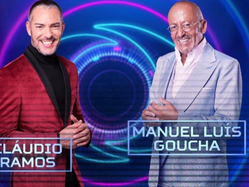 Cláudio e Goucha a nova dupla do 'Big Brother'. Recorde as caras que apresentaram os reality shows da TVI